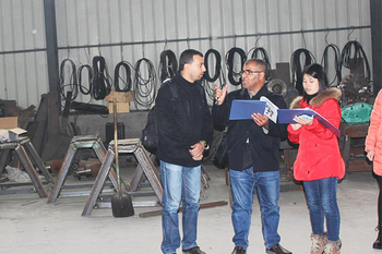 Dec 1, 2015 Algerian client visited our factory and checked our tire recycling machines. And express they are very interested in our machines.
