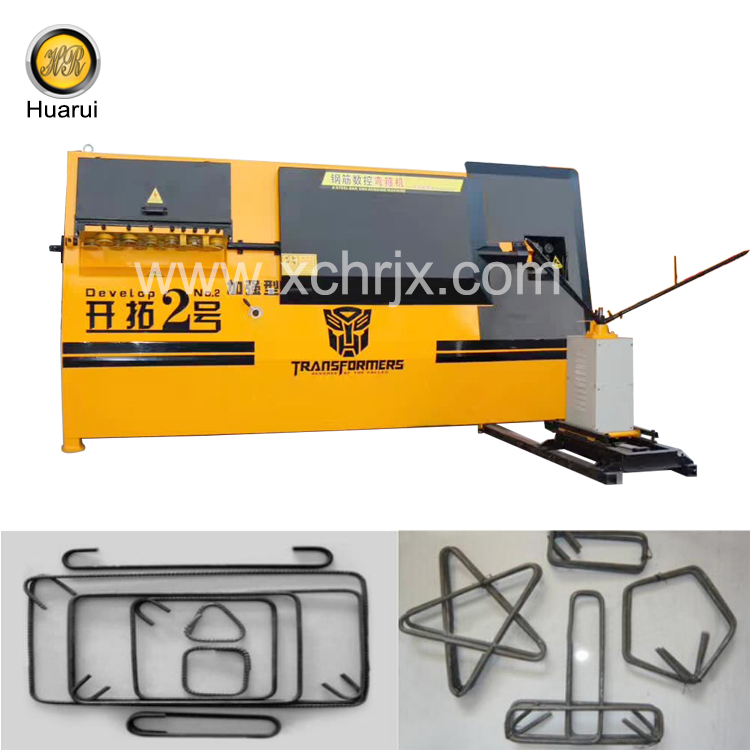 Widely Used in Construction Industry Develop No.2 Rebar Bending Machine
