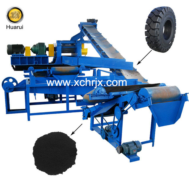 XKP450 Complete Tire Recycling Plant /Tire Crusher Rubber Machine