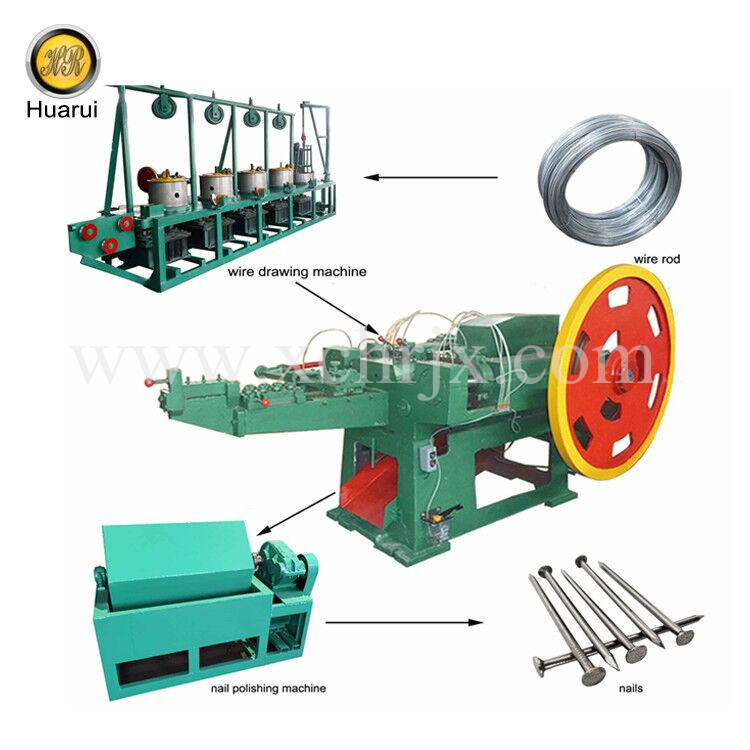 Nail Making Machine for 400-500mm Nails