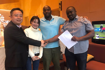Feb 22, 2019 Guinea client signed contract with us for ordering some more nail making machines. This is his second time to order our machines.